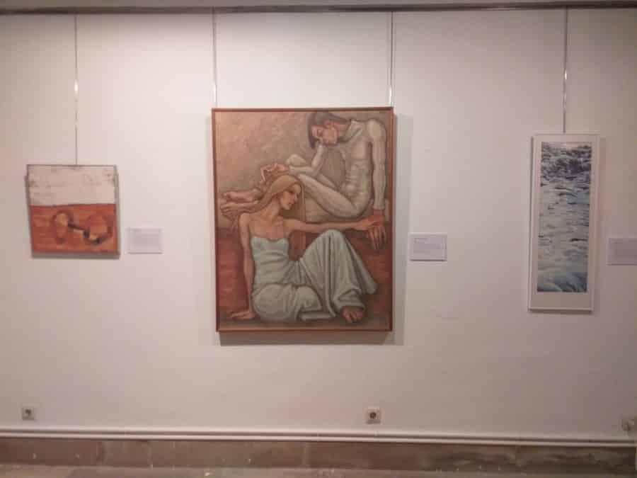Haro y Santo Domingo acogen la exposición 'Artistas Riojanos en la Colección Fundación Caja Rioja' 2