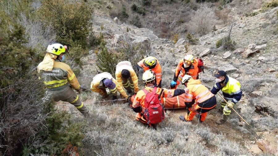 Jornadas formativas en La Rioja para mejorar las destrezas y coordinación de los equipos de intervención en emergencias 2