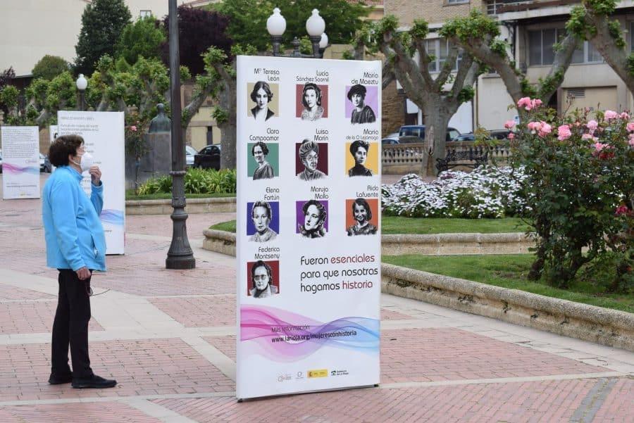 La exposición 'Mujeres con Historia' desembarca en Haro 3
