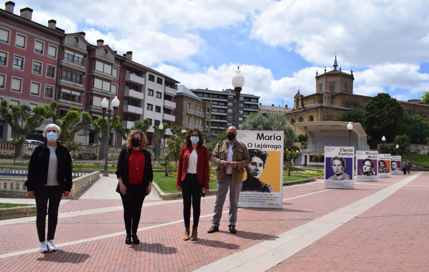 La exposición 'Mujeres con Historia' desembarca en Haro 1