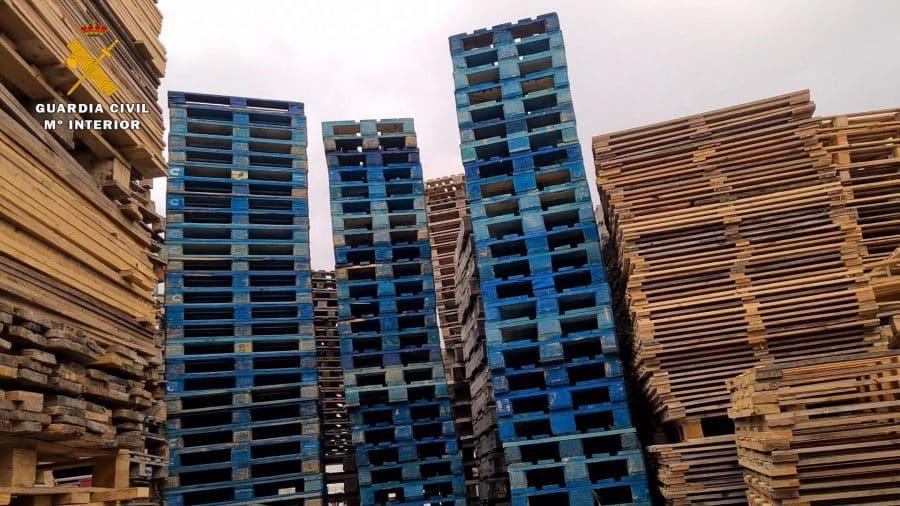 La Guardia Civil resuelve el hurto de casi 60.000 palés en una empresa riojana 2