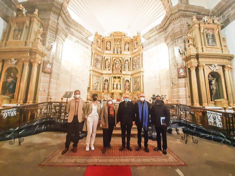 La Rioja colabora en la restauración de la cúpula de la iglesia parroquial Nuestra Señora de la Asunción de Briñas 1