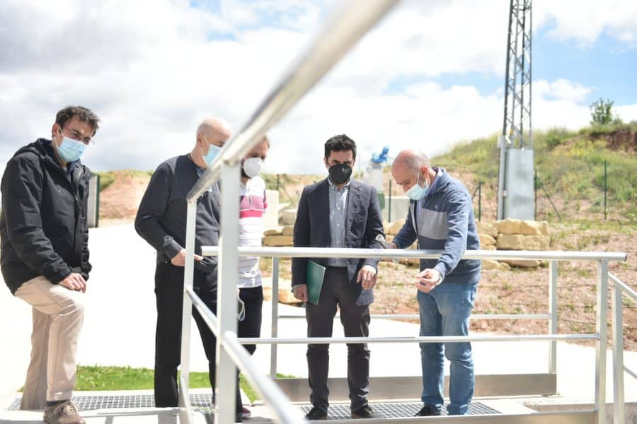 La Rioja invierte más de 1,1 millones de euros en la nueva estación depuradora de Camprovín 3