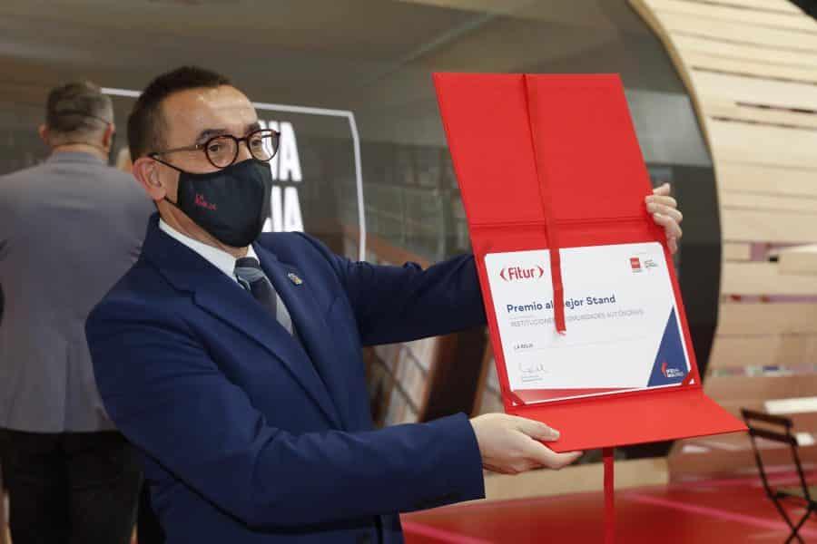 La Rioja, premio al mejor estand de FITUR 2021 1