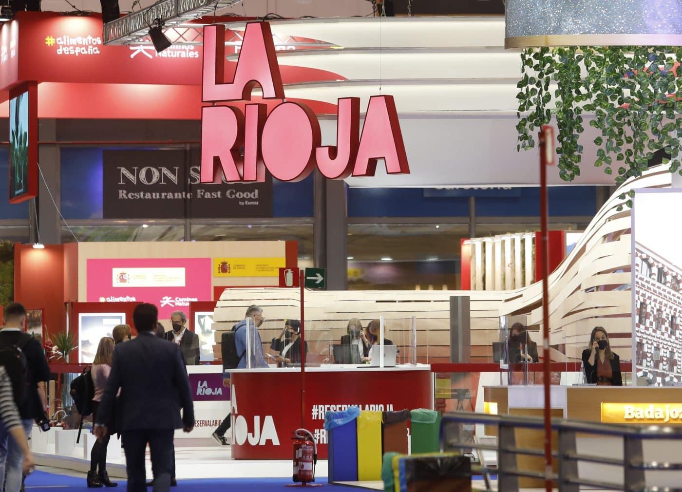"""La Rioja se exhibe en Fitur 2021 como """"destino turístico seguro"""" 7"""