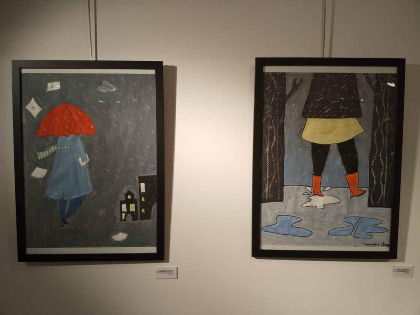 Arte como terapia: Las creaciones de los residentes del Hospital del Santo protagonizan la muestra 'ConFinArte' 3