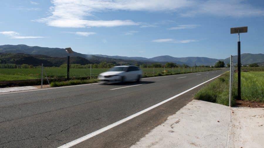 Proyecto piloto en Baños de Río Tobía para detectar animales que se aproximen a la carretera 4