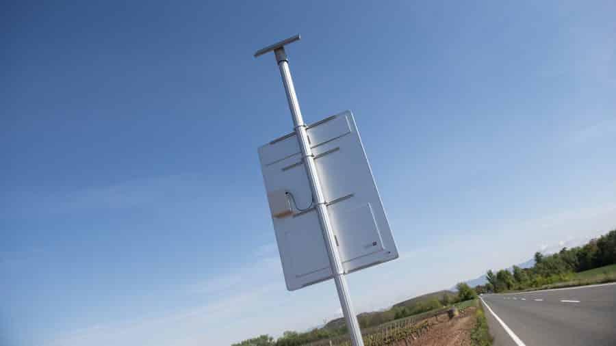 Proyecto piloto en Baños de Río Tobía para detectar animales que se aproximen a la carretera 3