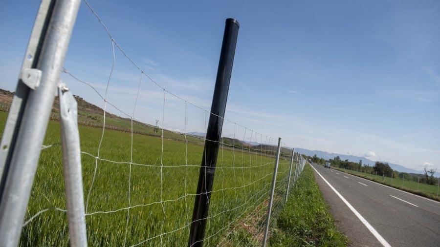 Proyecto piloto en Baños de Río Tobía para detectar animales que se aproximen a la carretera 2