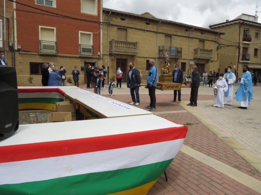 Rodezno honra de manera diferente a la Virgen de Olartia 4