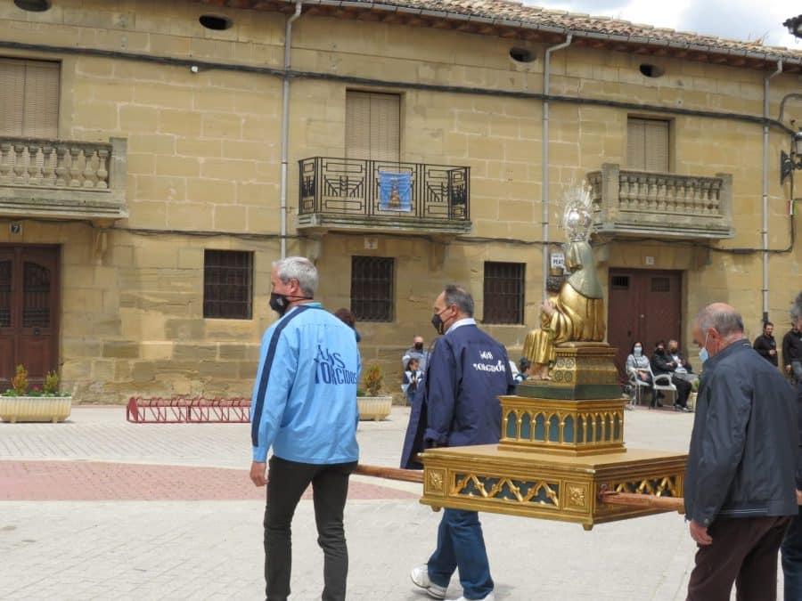 Rodezno honra de manera diferente a la Virgen de Olartia 3