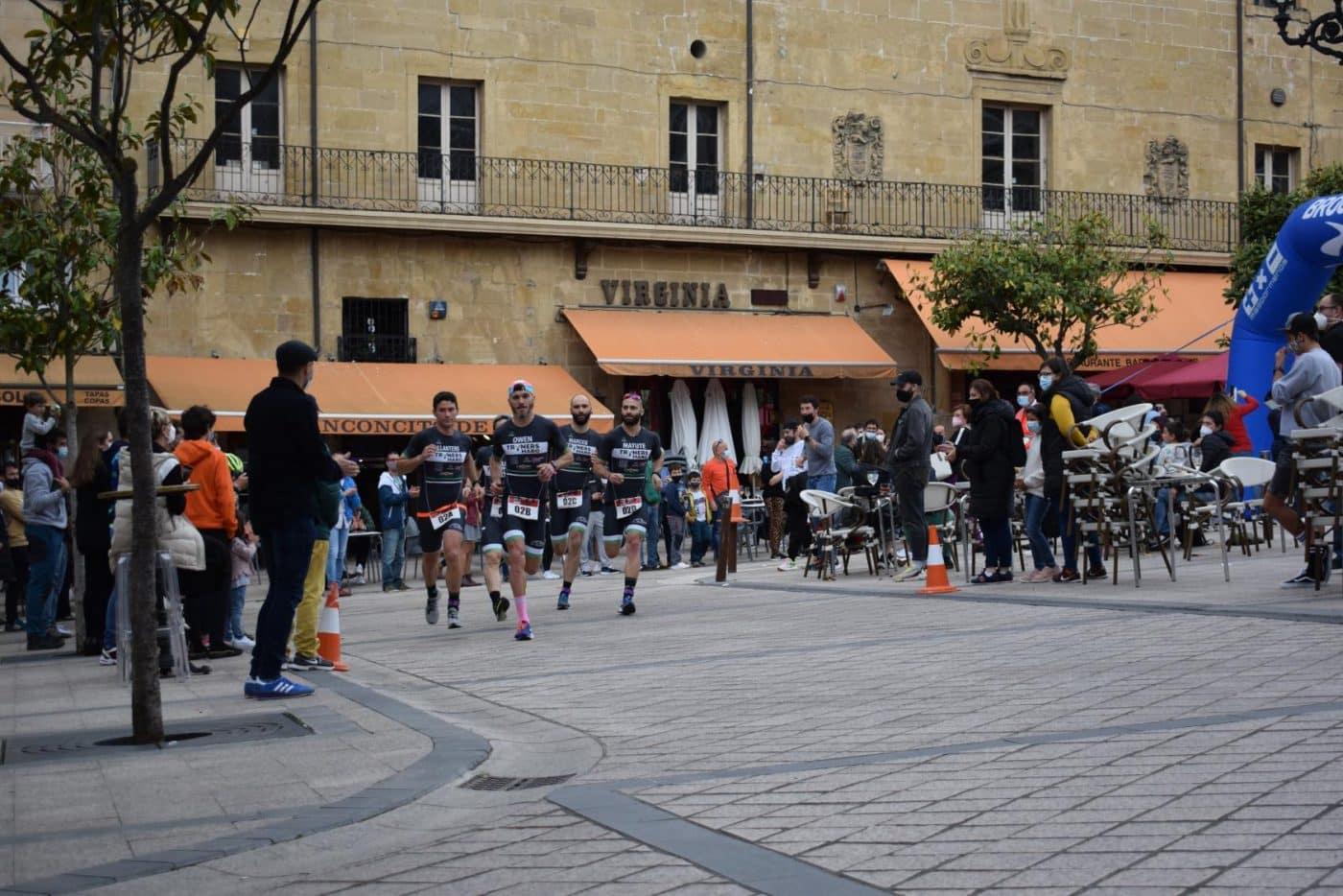 FOTOS: Tritones y Cafés Foronda se imponen en el I Duatlón de Haro 16
