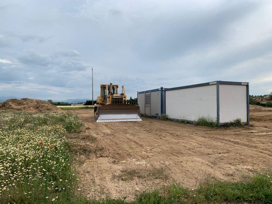 """""""Un día soñado"""": Arrancan las obras del nuevo colegio de Casalarreina 1"""