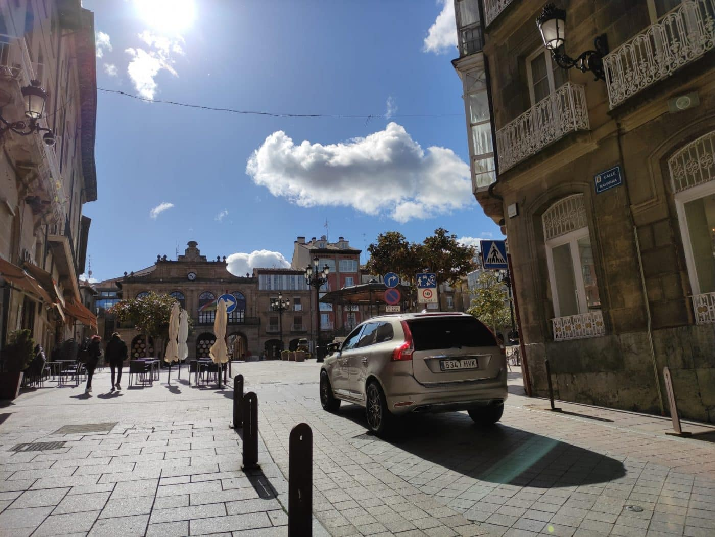 Calle Navarra Haro
