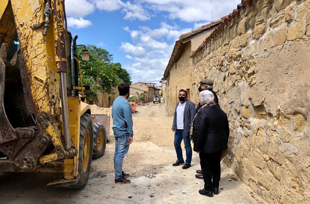 Casi 170.000 euros para mejorar los servicios en Cuzcurrita, Treviana, Sajazarra y Tirgo 2