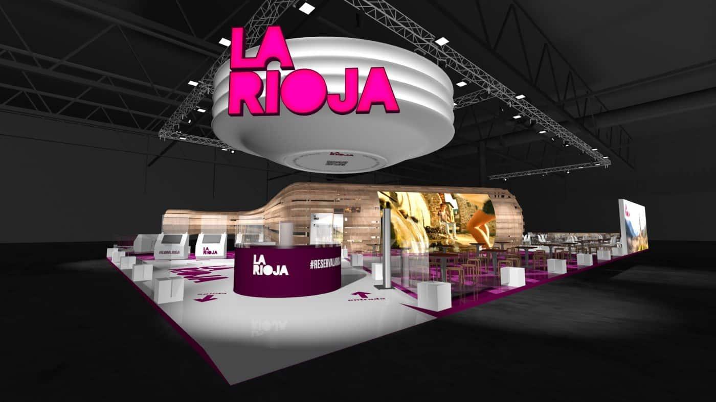 La Rioja acude a FITUR con un nuevo estand que fusiona elementos tradicionales y digitales 2