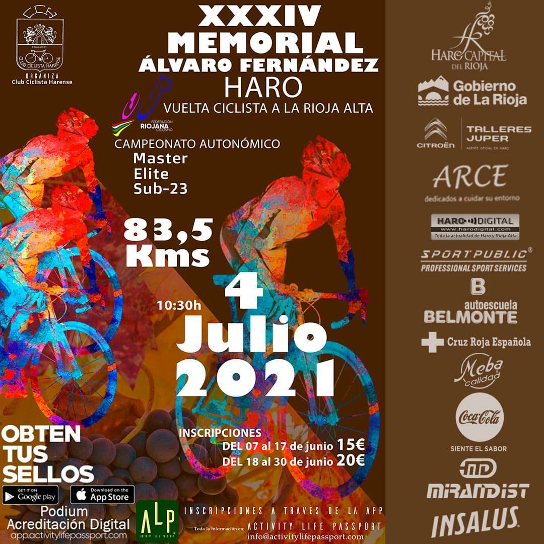 El Club Ciclista Harense recupera el Memorial Álvaro Fernández, que finalizará en El Mazo 1