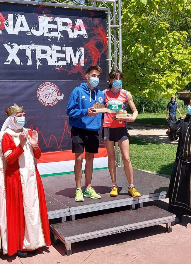 Juan Barrio y Abigail Myers vencen en el regreso de la Nájera Xtrem 1