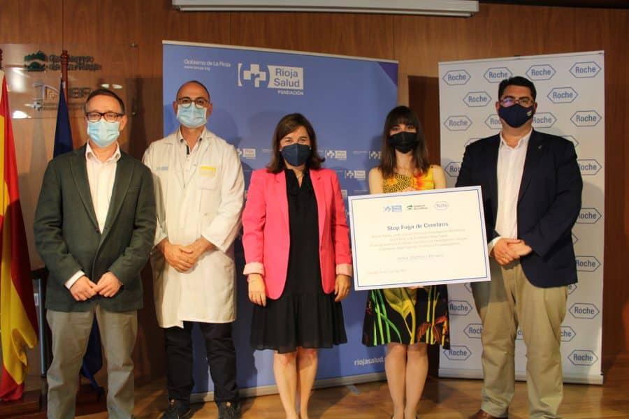 La doctora del CIBIR, Sonia Martínez, recibe la beca 'Stop Fuga de Cerebros' 1