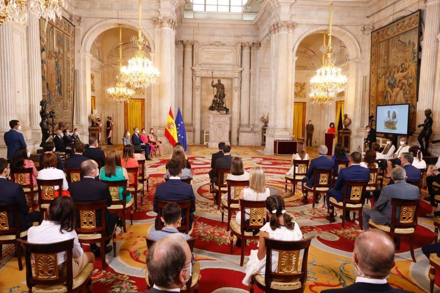 Felipe VI concede la Orden del Mérito Civil al agricultor riojano, David Lafuente 1