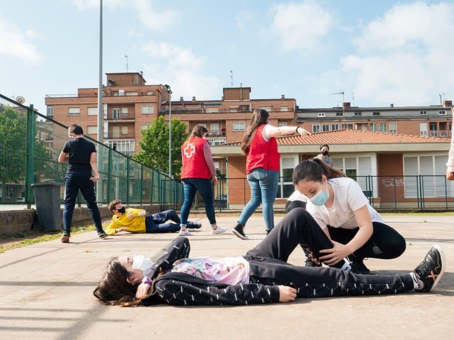 Alumnos del IES Rey Don García participan en el proyecto Redox para la sensibilización sobre el consumo abusivo de drogas 3