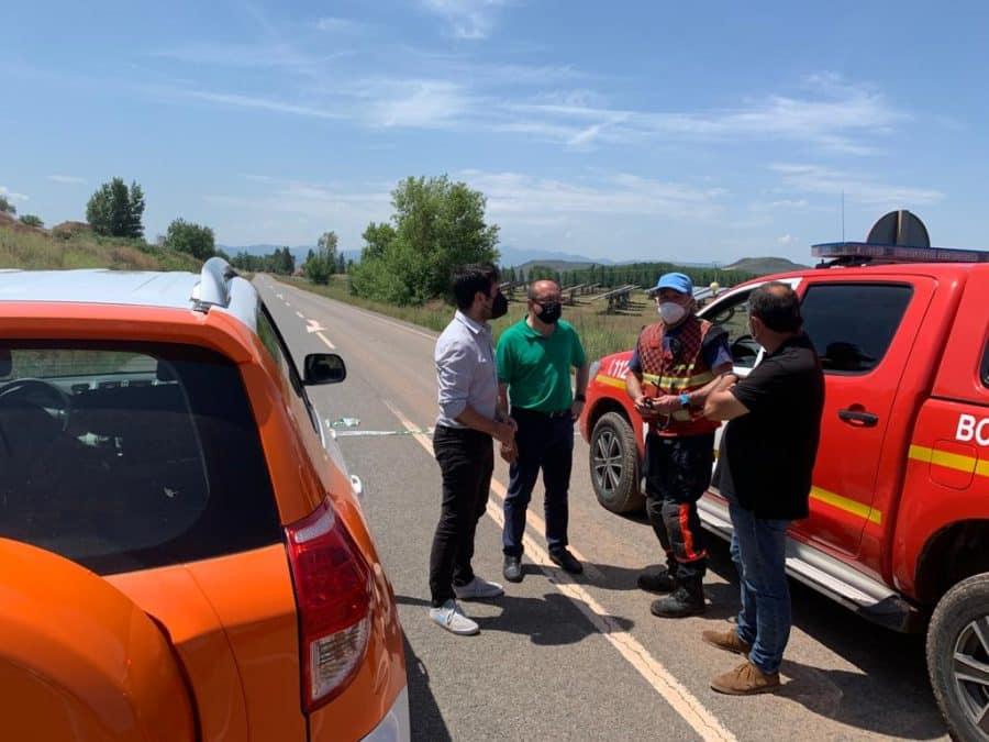 Andreu conoce de primera mano los daños ocasionados por el temporal en Fuenmayor 6