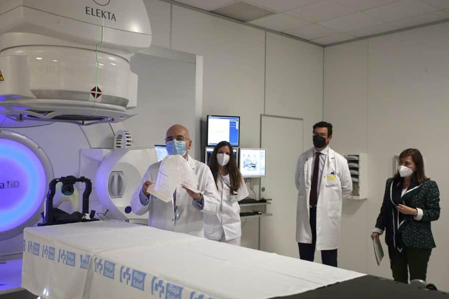 El CIBIR incorpora la radiocirugía para pequeños tumores cerebrales 1