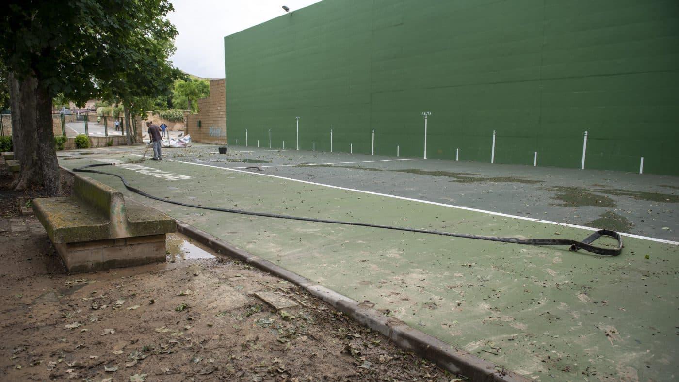 El Gobierno riojano realizará mejoras en Ollauri y Navarrete para favorecer la canalización tras las tormentas 11