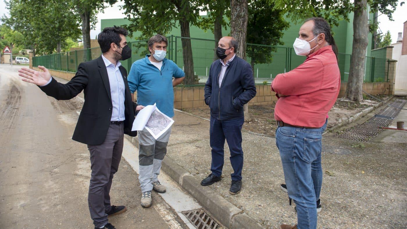 El Gobierno riojano realizará mejoras en Ollauri y Navarrete para favorecer la canalización tras las tormentas 10
