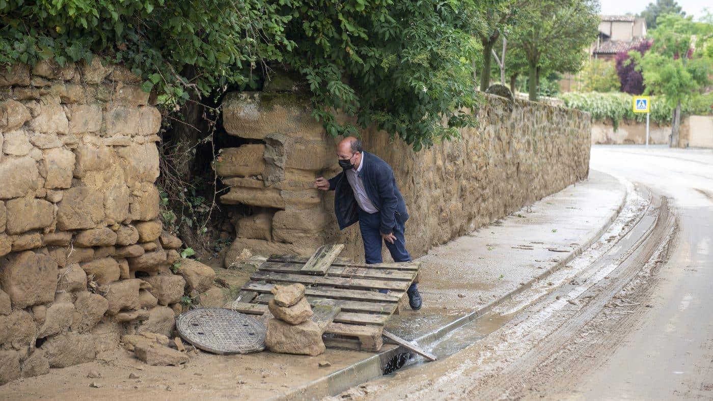 El Gobierno riojano realizará mejoras en Ollauri y Navarrete para favorecer la canalización tras las tormentas 7