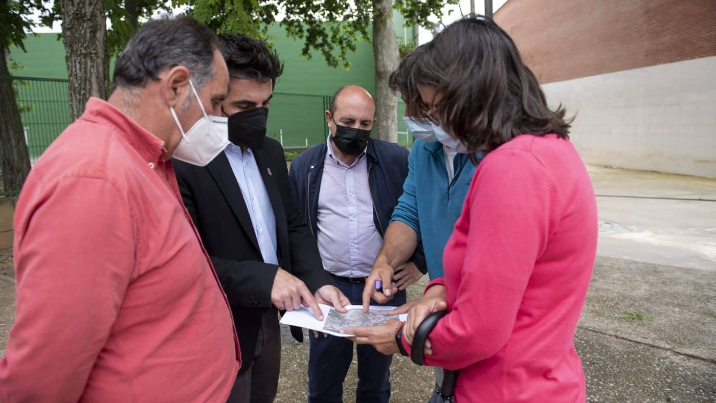 El Gobierno riojano realizará mejoras en Ollauri y Navarrete para favorecer la canalización tras las tormentas 5