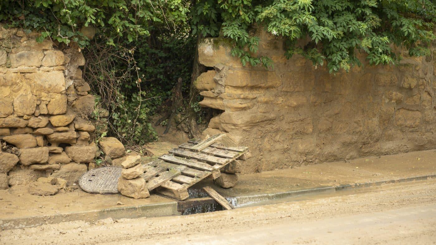El Gobierno riojano realizará mejoras en Ollauri y Navarrete para favorecer la canalización tras las tormentas 3