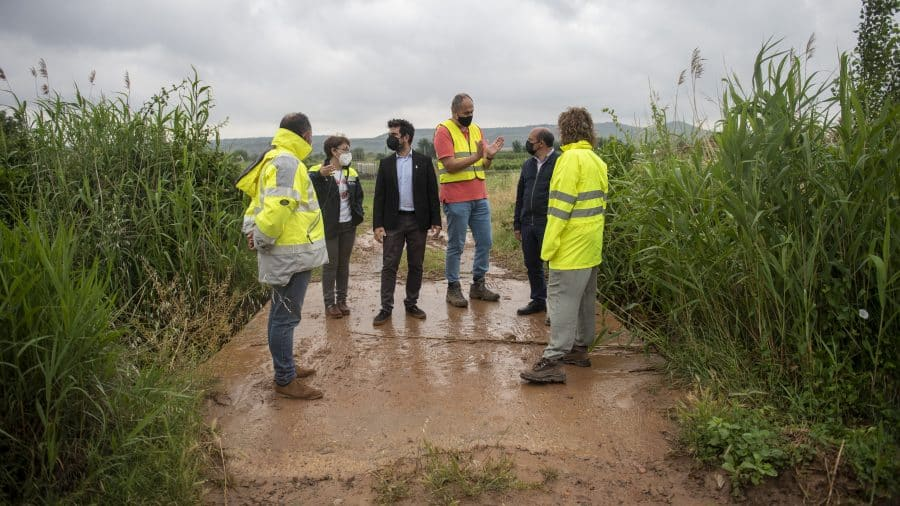 El Gobierno riojano realizará mejoras en Ollauri y Navarrete para favorecer la canalización tras las tormentas 29