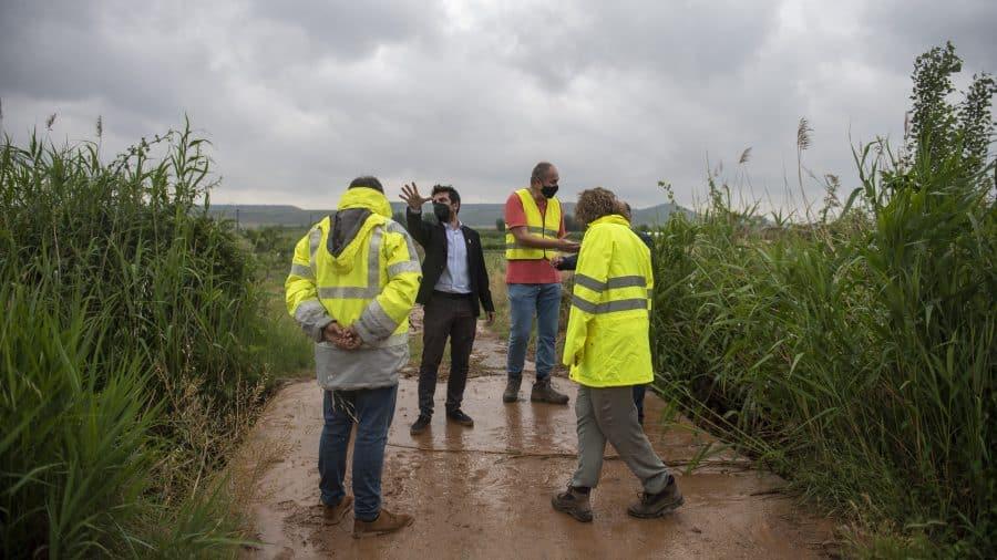 El Gobierno riojano realizará mejoras en Ollauri y Navarrete para favorecer la canalización tras las tormentas 30