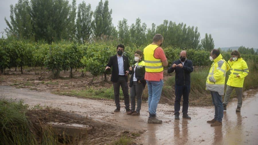 El Gobierno riojano realizará mejoras en Ollauri y Navarrete para favorecer la canalización tras las tormentas 35