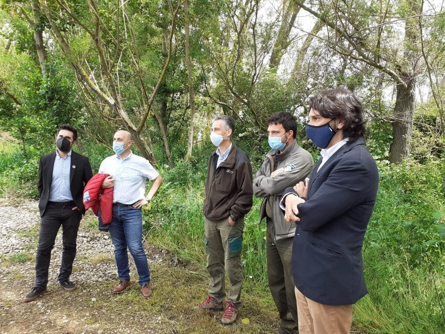 El Gobierno riojano mejora en Casalarreina el área recreativa dedicada a los trabajadores del medioambiente 1