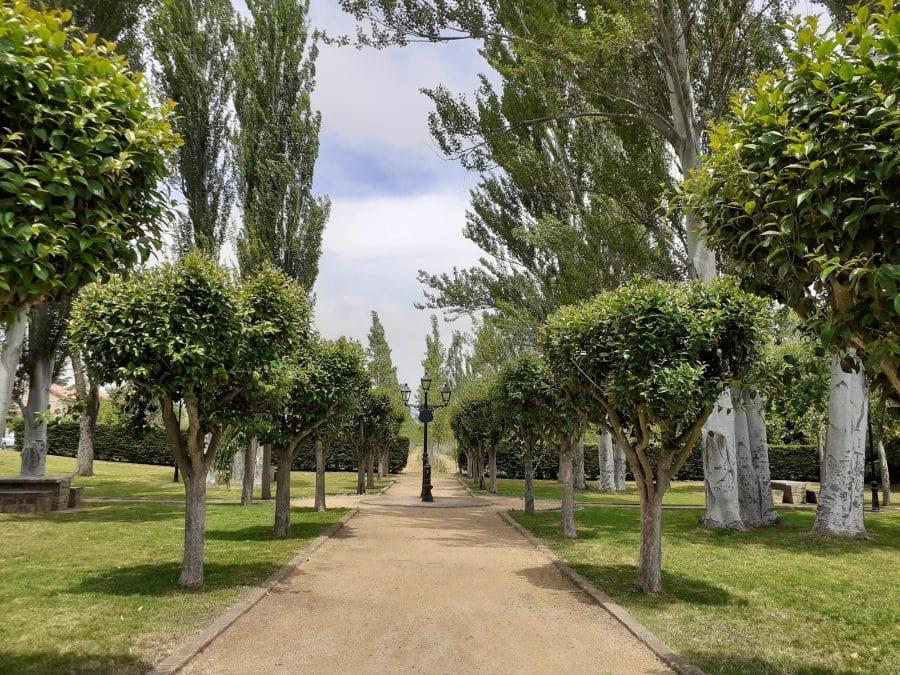 El Gobierno riojano mejora en Casalarreina el área recreativa dedicada a los trabajadores del medioambiente 3