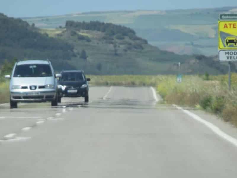 Carretera en La Rioja