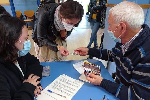 El IES Rey Don García impulsa un proyecto para poner en valor las vivencias de los mayores de Nájera 1