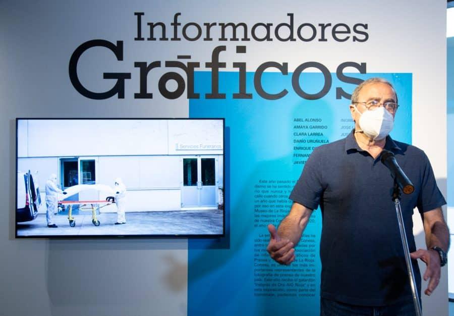 El Museo de La Rioja acoge una exposición con las mejores fotografías del año de la pandemia 12