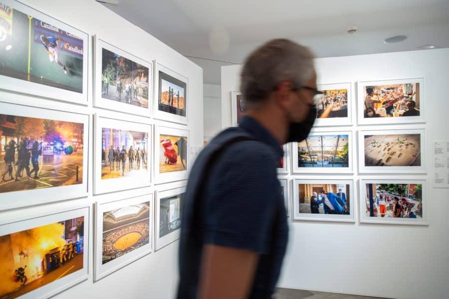 El Museo de La Rioja acoge una exposición con las mejores fotografías del año de la pandemia 8