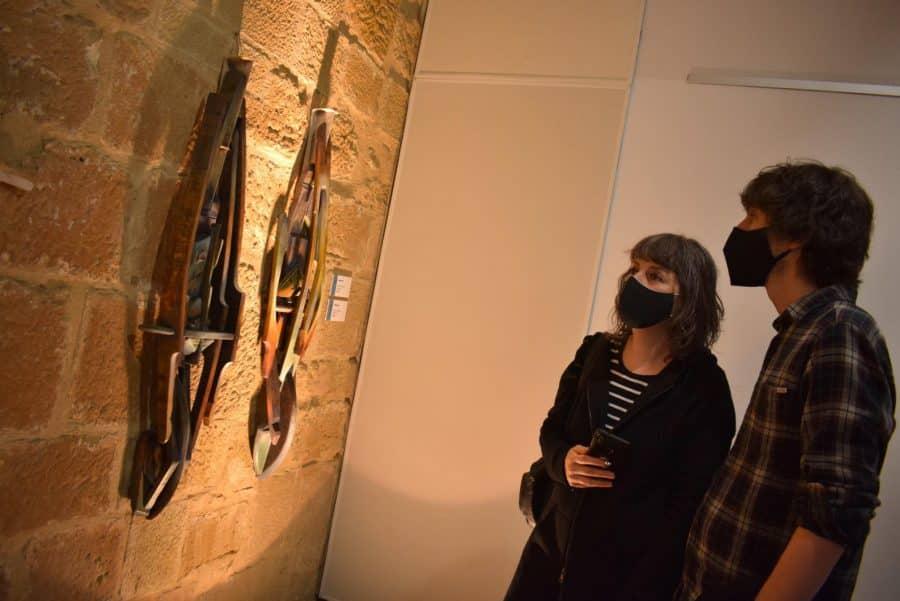 FOTOS: El Torreón de Haro inaugura 'De grana y roble', del artista riojano Óscar Cenzano 19