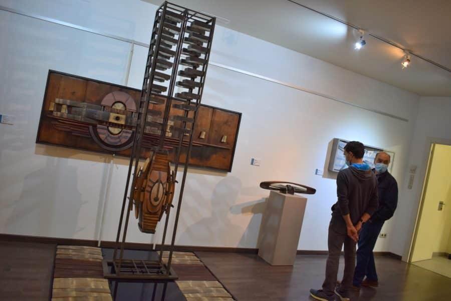 FOTOS: El Torreón de Haro inaugura 'De grana y roble', del artista riojano Óscar Cenzano 20