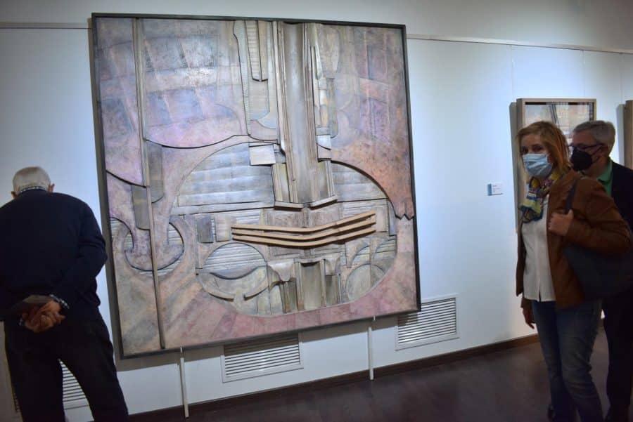 FOTOS: El Torreón de Haro inaugura 'De grana y roble', del artista riojano Óscar Cenzano 22