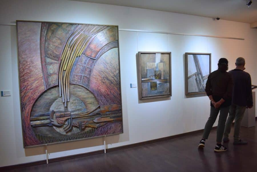 FOTOS: El Torreón de Haro inaugura 'De grana y roble', del artista riojano Óscar Cenzano 24
