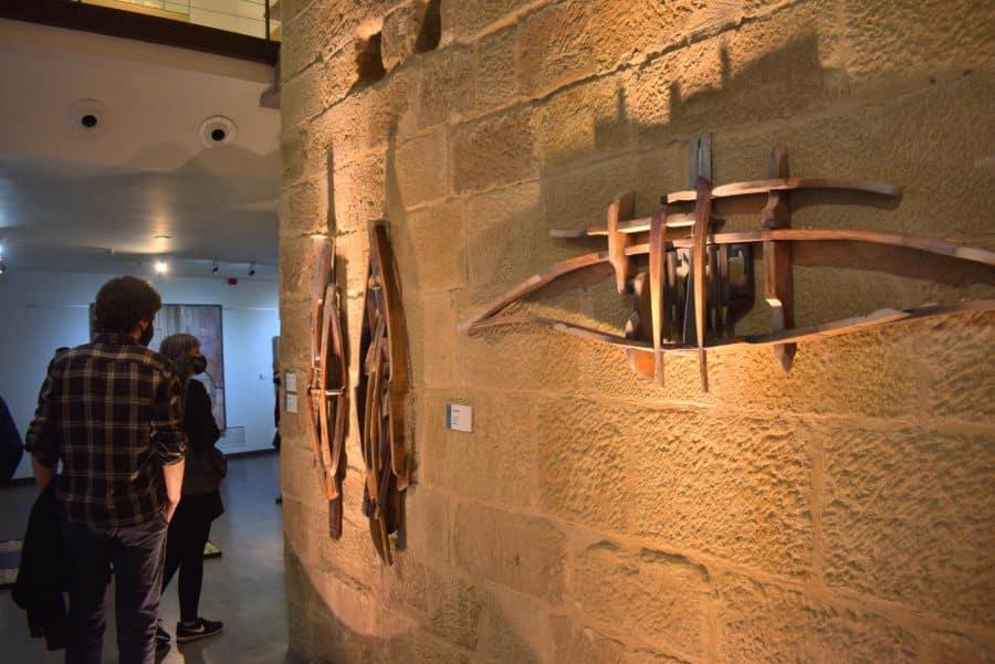FOTOS: El Torreón de Haro inaugura 'De grana y roble', del artista riojano Óscar Cenzano 18