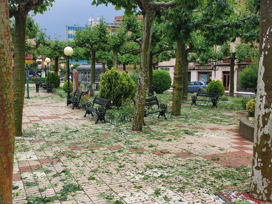 FOTOS: Intensa granizada en Santo Domingo de la Calzada 13
