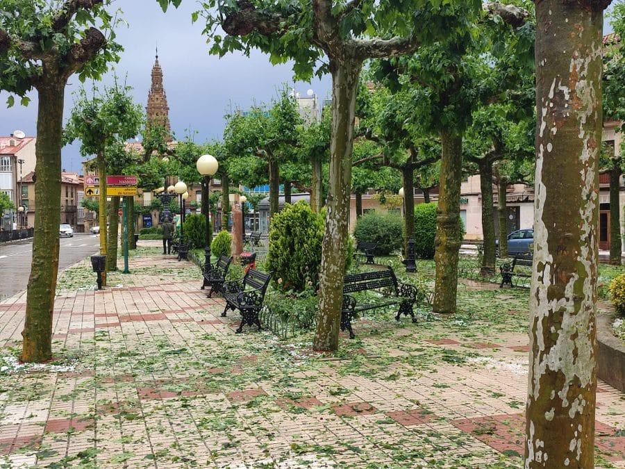 La Rioja registra una treintena de incidencias por el episodio de tormentas de este miércoles 6