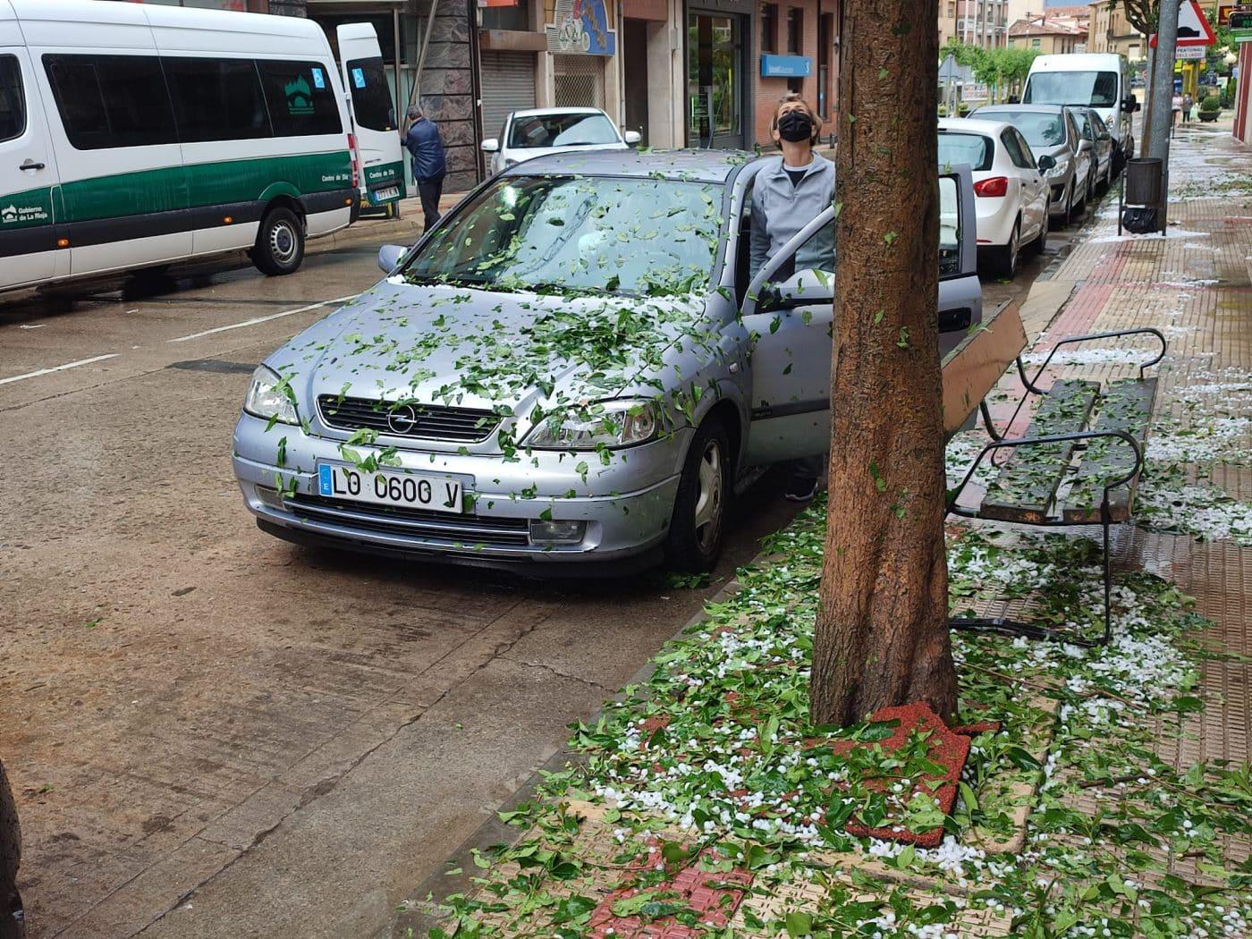 La Rioja registra una treintena de incidencias por el episodio de tormentas de este miércoles 9