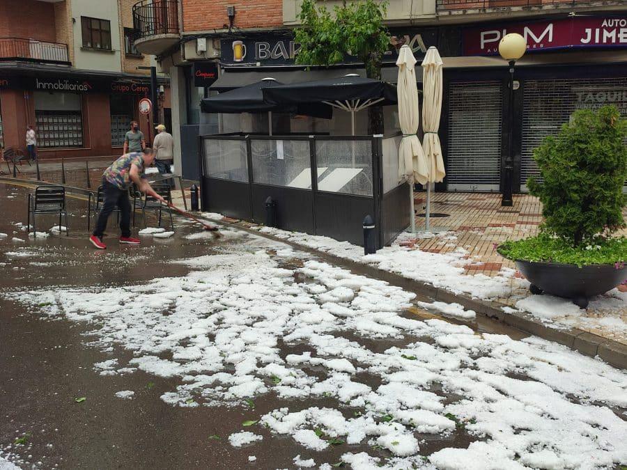 La Rioja registra una treintena de incidencias por el episodio de tormentas de este miércoles 7